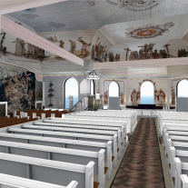 A Virtual Church: Haukiputaan kirkko (2012)