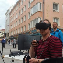 VR On-Site in Oulu city