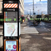 AR view to Air Quality data in Helsinki